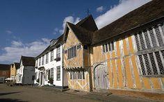 Lavenham England's 600 year old homes.