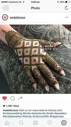 MehendiHenna Tattoos More Pins Like This At FOSTERGINGER @ Pinterest✋