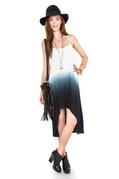 Ozzy Tie Dye Dress. $78.00. Part of our online exclusives. #tiedye #ombre #summer #dress #luckyb