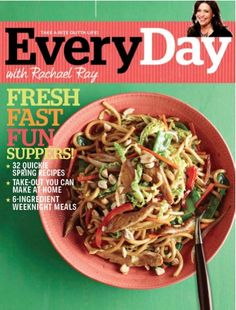 Every Day with Rachael Ray: 1-yr for 4.99!!  #recipes