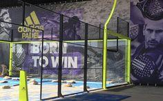 Mañana inaugura Up Padel Indoor Badalona club que contará con 7 pistas de Redsport Padel y 1 panorámica de Adidas Padel.