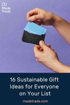 16 Sustainable And Eco Friendly Gift Ideas For 150 Or Less Eco Friendly Gifts Conscious Gifts Gifts For Friends