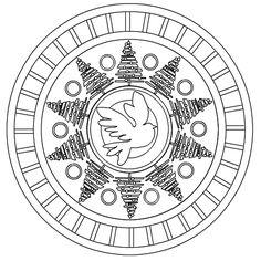 Mandala of the Lunar Quarter - 12-13-10 - First Quarter