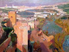 Sorolla landscape - Alhambra, Granada