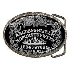 Ouija Board belt buckle