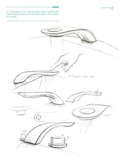 Design student Simon Qiu from the Royal College of Art in London recently won an award for this new faucet design that produces incredible water swirling patterns, as well as uses 15% water.