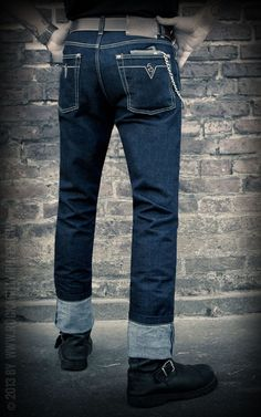 Coole Slim-Fit Jeans von Rumble59 - Rockabilly-Rules.com