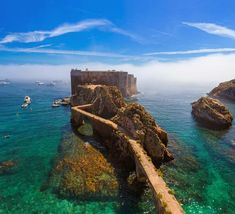 Portugal Day Trips Tips Berlenga Islands - Portugal/Lisbon - Travel Road Trip Portugal, Best Places In Portugal, Portugal Vacation, Portugal Travel, Spain And Portugal, Portugal Country, Places To Travel, Travel Destinations, Places To Visit