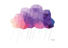 'Clouds' by Ginevra Marengo via Behance
