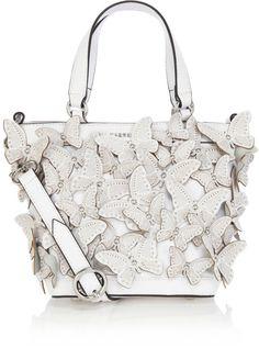 Karen Millen Butterfly Cutwork Baby Bag