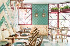 Интерьер кафе Albabel в Пеканье от испанского бюро Masquespacio | Admagazine | AD Magazine