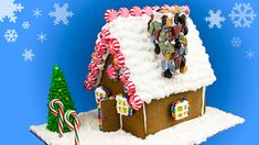 How to Make a Gingerbread House: Gingerbread House Recipe from Cookies C...