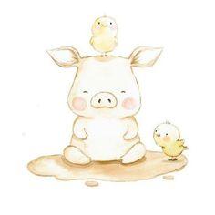 Piggy & Chicks