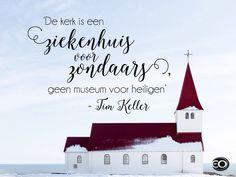 quote#Tim Keller# kerk