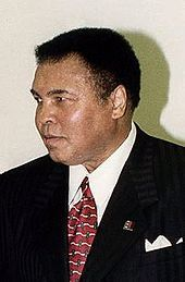 Muhammad Ali (born Cassius Marcellus Clay, Jr., January 17, 1942) is an American former professional boxer, generally considered among the greatest heavyweights in the sport's history.  Ali was diagnosed with Parkinson's in 1984.