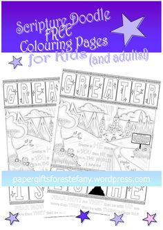 I had fun making this colouring page and reflecting on the Bible verses as I played… I hope you have just as fun when you add your creative touch… hop on over to JackDey.com to collect it and while you are there treat yourself to one of his fabulous books… enjoy! papergiftsforestefany.wordpress.com #freeprintable #printable #printables #bibleverse #scripture #kids #bible #doodle #forkids #faith #sundayschool #homeschool #coloring #colouring