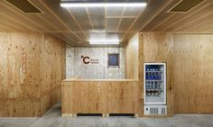 Schemata Architects renovated an old capsule hotel into ºC (Do-C) Ebisu with a Finnish-inspired refresh in Tokyo.