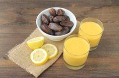 Orange Mango Lemon Smoothie