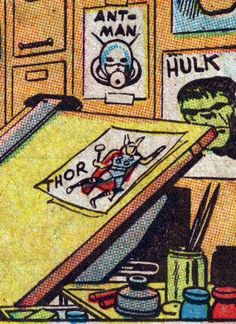 The Marvel Comics Drawing Board - 4CP