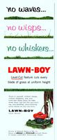 Lawn-Boy Mower 1956 Ad Picture