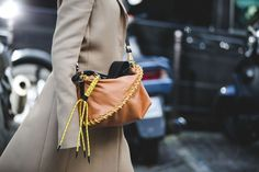 How French Girls Do Street Style For Fashion Week  #refinery29  http://www.refinery29.com/2016/03/105661/paris-fashion-week-fall-winter-2016-street-style-pictures#slide-48  This season, stitching is meant to be seen....