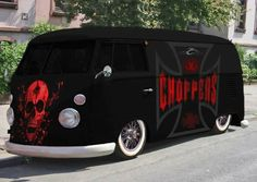 Vw kombi I JUST STARTED LOVE ING VW'S TAKE THE CHOPPERS OFF, I BE COOL