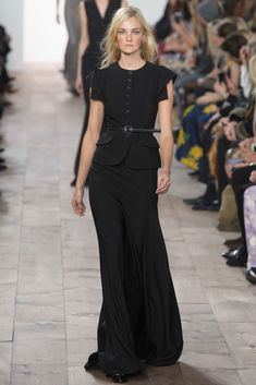 Michael Kors Collection Fall 2015 Ready-to-Wear Fashion Show - Natasha Poly