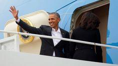 Barack Obama lands in Cuba for historic visit