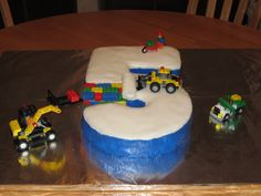 fifth birthday cake | made the 5 using 2 cake mixes with cake
