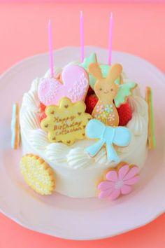 corecle コレクル > あいりおー > バースデーデコケーキ