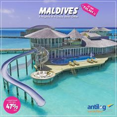Get Best Offer on #Maldives #Holiday #Package @35,464/P