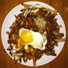 Animal style frites at The Greenhouse Tavern, Cleveland, OH.