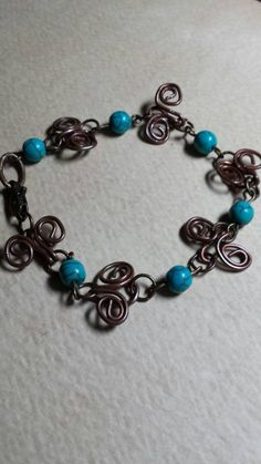 Items similar to Fun with wire on Etsy My Etsy Shop, Take That, Wire, Trending Outfits, Unique Jewelry, Handmade Gifts, Bracelets, Check, Fun