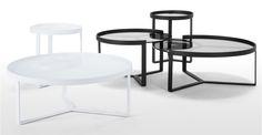 Aula Coffee Table, White | made.com