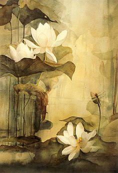 Lotus myth and symbolism, water lily vs. lotus. lotuseverson.jpg (270×398)