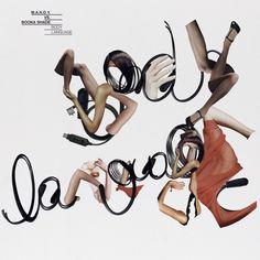 Creative Album, Art, Hort, Cover, and Vinyl image ideas & inspiration on Designspiration Typography Love, Typography Inspiration, Typography Letters, Design Inspiration, Experimental Type, Wow Photo, Short Image, Body Language, Surface Design