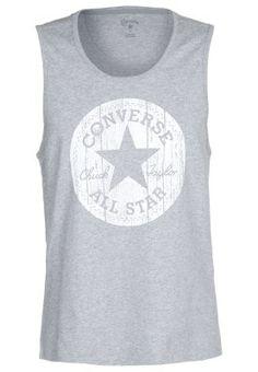 de90ae0aa12c85 Converse T-shirt print - Grey Converse T Shirt