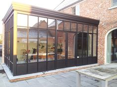 Veranda steellook zwarte structuurlak - Adr Construct (2) | by ADR Construct
