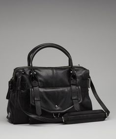 Take a look at this Black Kendal Satchel by Kooba on #zulily today!