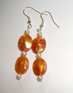2 sets Bridesmaid Earrings Holiday Cream by ElizabettaJewellery