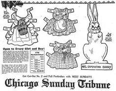 paper doll chicago tribune - Bing images