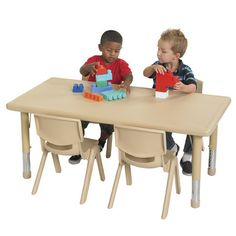 Quite Attractive, Chairs Stack And Are Light Enough For Each Child To Carry  Their Own Chair. ~NK~ Another Great Find On Blue Activity Table U0026 Chair ...