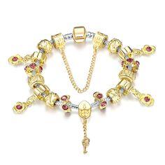 Rubique Jewelry Ryal Midnight Black Crown Jewel Pandora Inspired