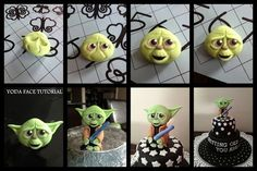 Yoda's Face Tutorial