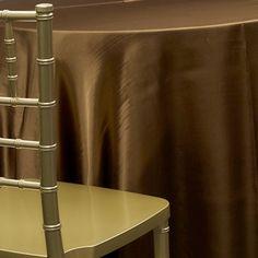 Bronze Table Linens | Wholesale Linens for Weddings