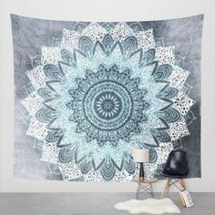 I really like this light blue mandala wall tapestry. Mexidi Mandala Bohemian Printed Indian Bedspread Magical Wall Hanging Beach Towel Tapestry (L, Snow) Elephant Tapestry, Blue Tapestry, Tapestry Beach, Bohemian Tapestry, Indian Tapestry, Mandala Tapestry, Tapestry Wall Hanging, Mandala Throw, Wall Hangings