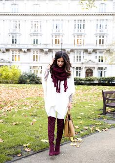 """NOVEMBER 12, 2015 Autumn Leaves in London - SHIRT: J.Crew (similar HERE) 