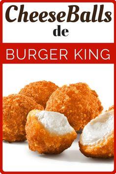 Aprende hacer las nuevas Philadelphia Cheese Balls de Burger King