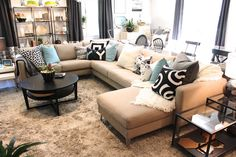 Ikea. This is my couch, exactly how I want it. Buying the beige cover and adding the chaise to the end, love it!