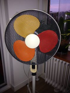 Ventilator laden een kleurtjegegeven.